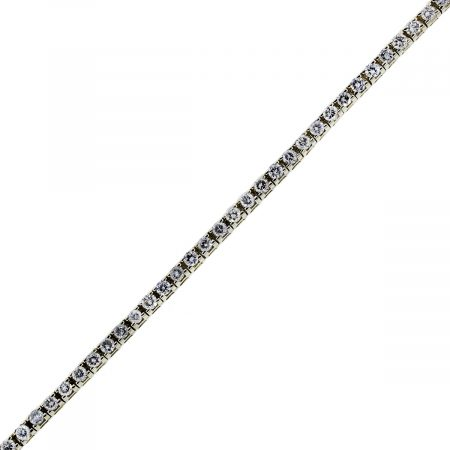 You are viewing this 14K Yellow Gold 45 Stones Diamond Tennis Bracelet!