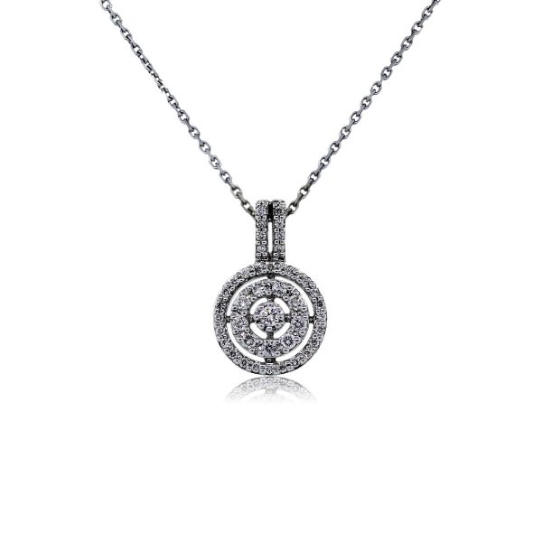 You are Viewing this Stunning Pave Set Diamond Pendant!