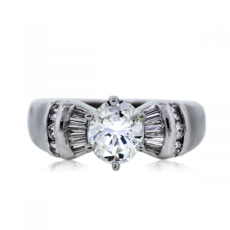 You are Viewing this GIA Certified Diamond Engagement Ring!