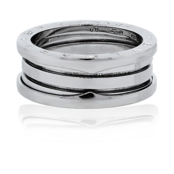 You are viewing this Bulgari B.ZERO1 4-Band White Gold Ring!