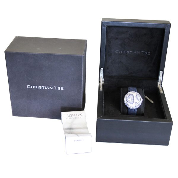 Christian Tse Prismatic Happy Hearts Ladies Watch Box and Papers