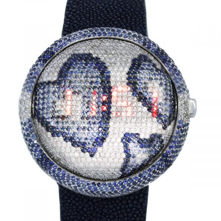 You are viewing this Christian Tse Prismatic Happy Hearts Ladies Watch!