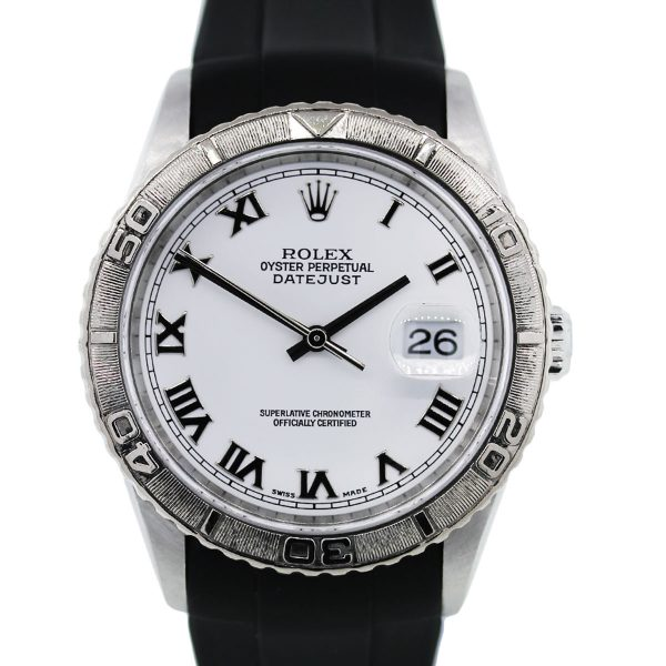 You are viewing this Rolex Datejust 16264 Turnograph Mens Watch!
