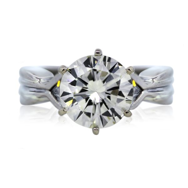 You are Viewing this EGL Certified Diamond Engagement Ring!