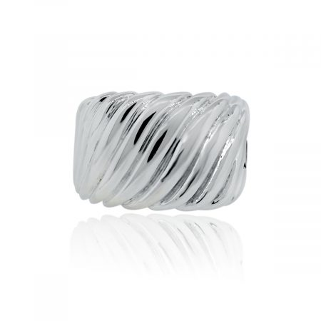 You are viewing this David Yurman Sterling Silver Sculpted Cable Ring!