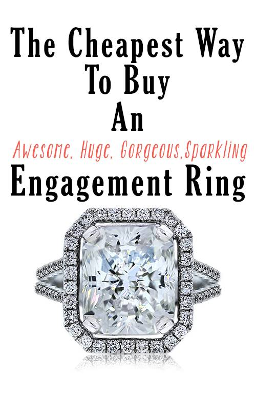 How to a huge engagement ring Raymond Lee Jewelers