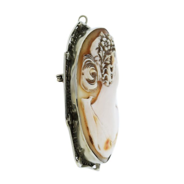 Carved Cameo Pendant