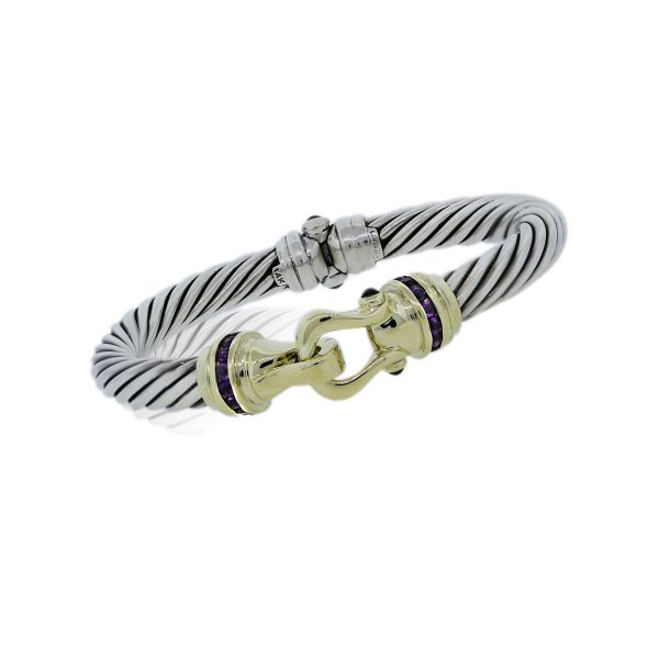 You are Viewing this Stunning David Yurman Cable Bracelet!