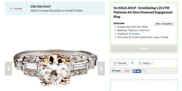 Proposal Spoiler: Buying An Engagement Ring Online Didn't Ruin the Surprise, this Vendor Did