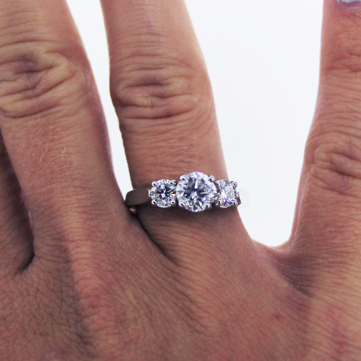 E Color And Si2 Diamond Engagement Ring