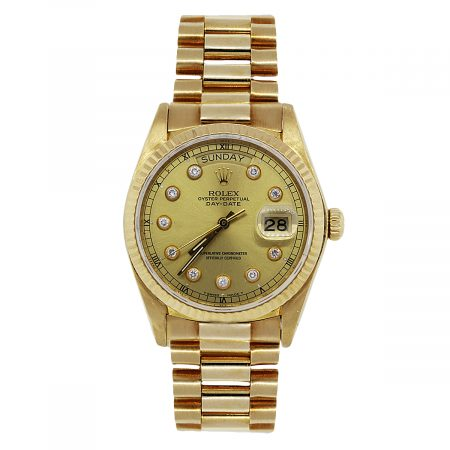 You are Viewing this Rolex 18038 Day Date Watch!