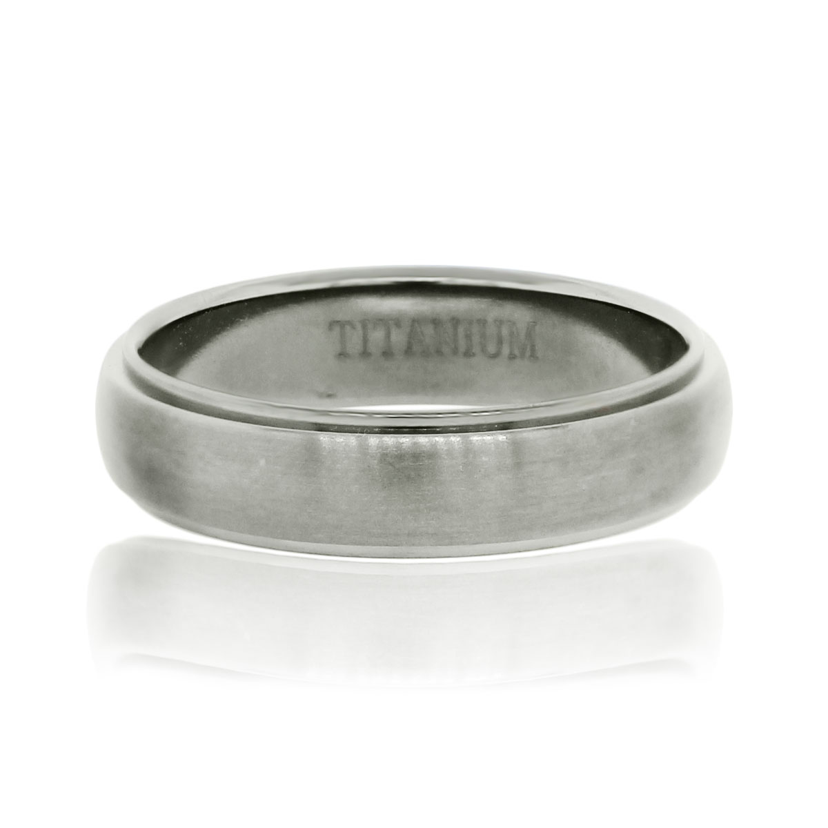 You are viewing this Titanium 5.5mm Gents Wedding Band Ring!
