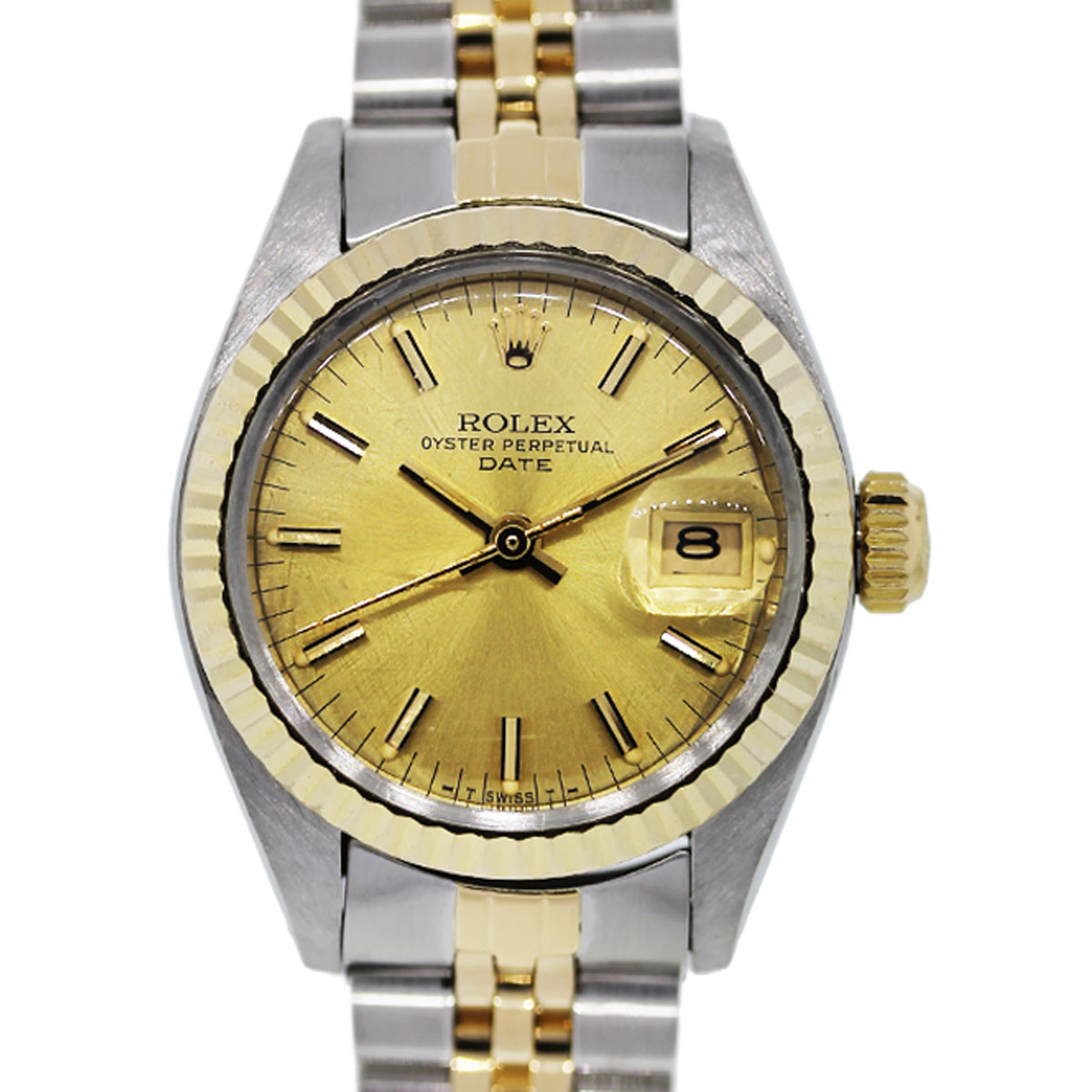 You are viewing this Ladies Rolex 6917 Datejust Two Tone Watch!