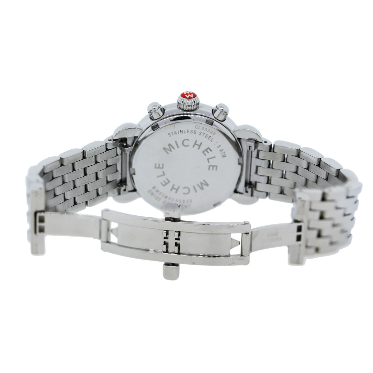 Michele Carousel CSX Stainless Steel Ladies Watch