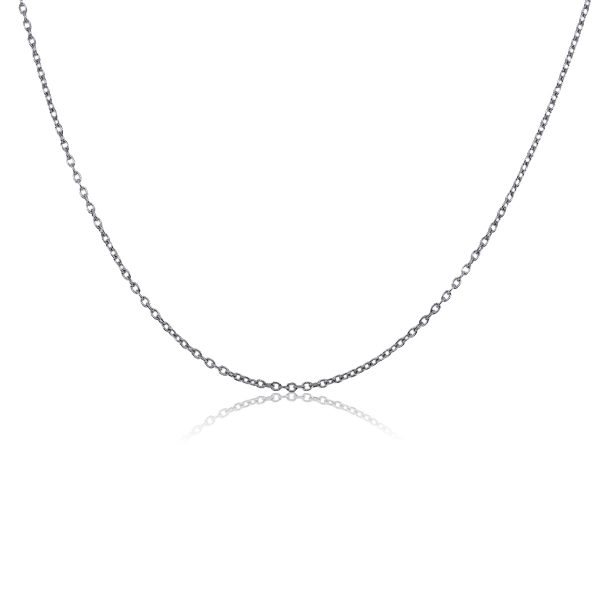You are Viewing this 14 White Gold Chain Necklace!