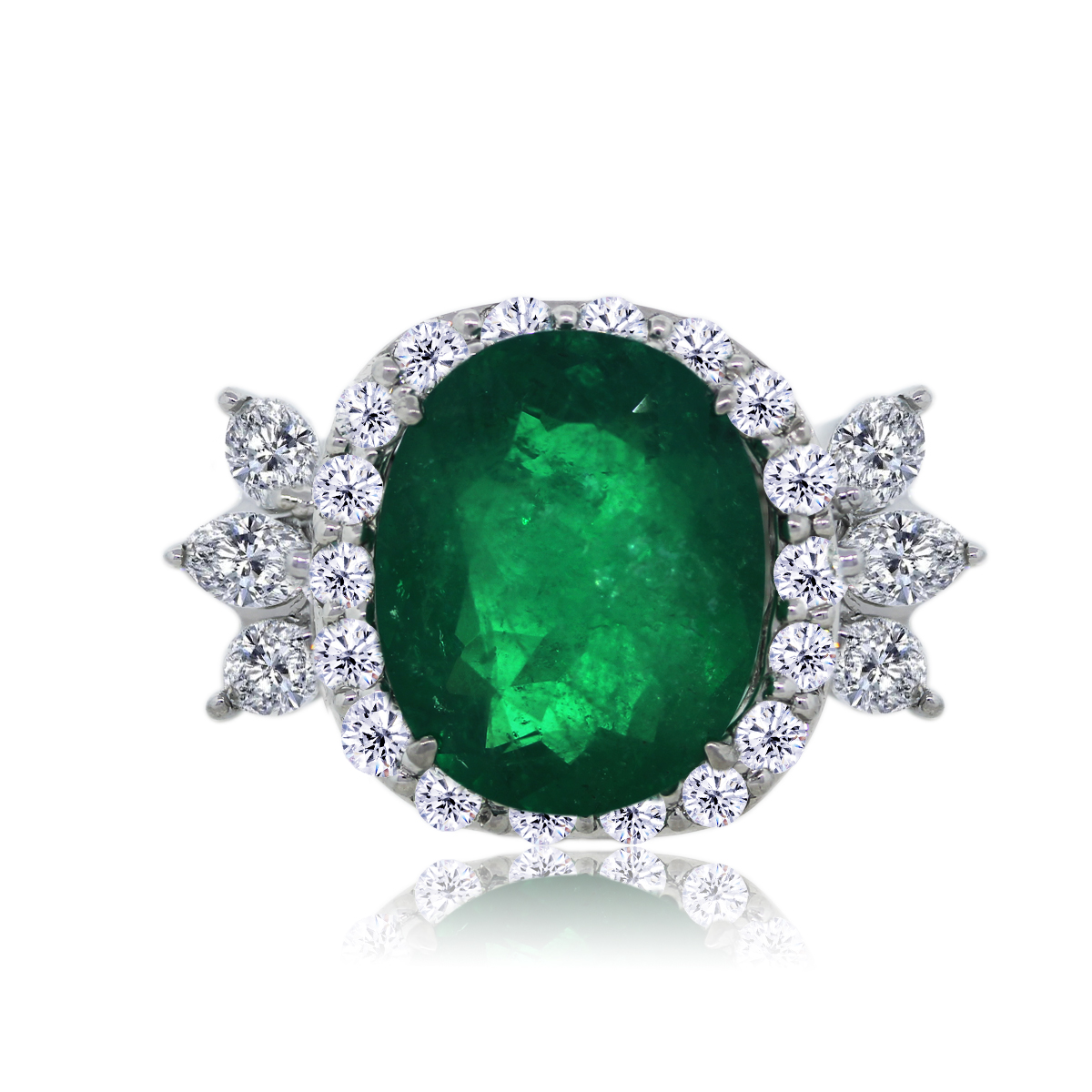 You are Viewing this Platinum Colombian Emerald
