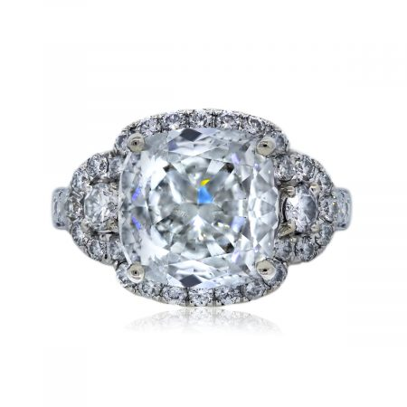 You are Viewing this Cushion Cut Diamond Ring
