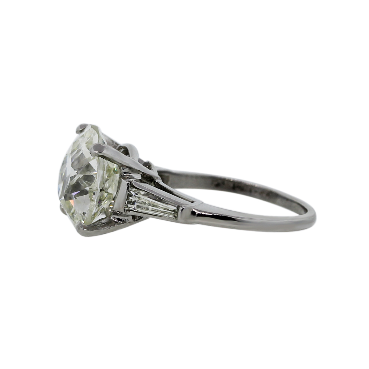 Solitaire with Accent Ring