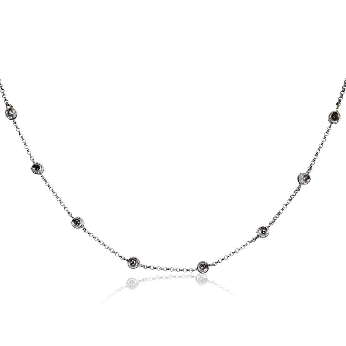 You are viewing this diamonds by the yard necklace!