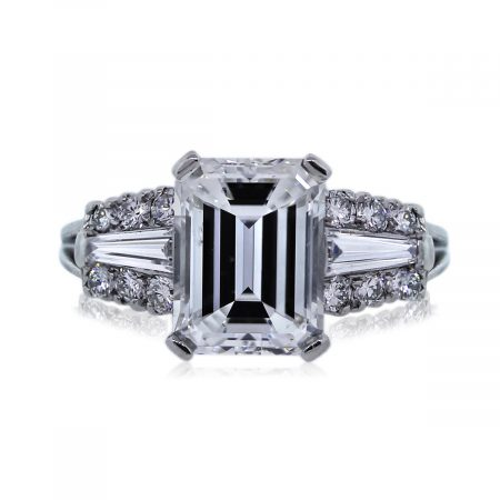 You are Viewing this Stunning 3.01ct GIA Diamond Engagement Ring