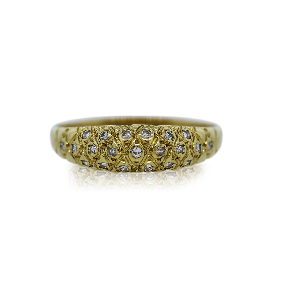 You are Viewing this Stunning Diamond Dome Ring!