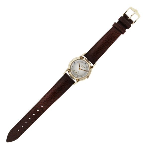 Longines 14K Yellow Gold Vintage Automatic Mens watch