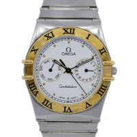 Omega Constellation Chronograph Two Tone Gents Watch