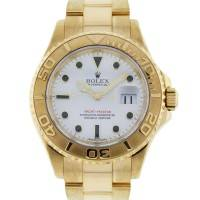 18k Yellow Gold Rolex Yachtmaster 16628 Gents Watch