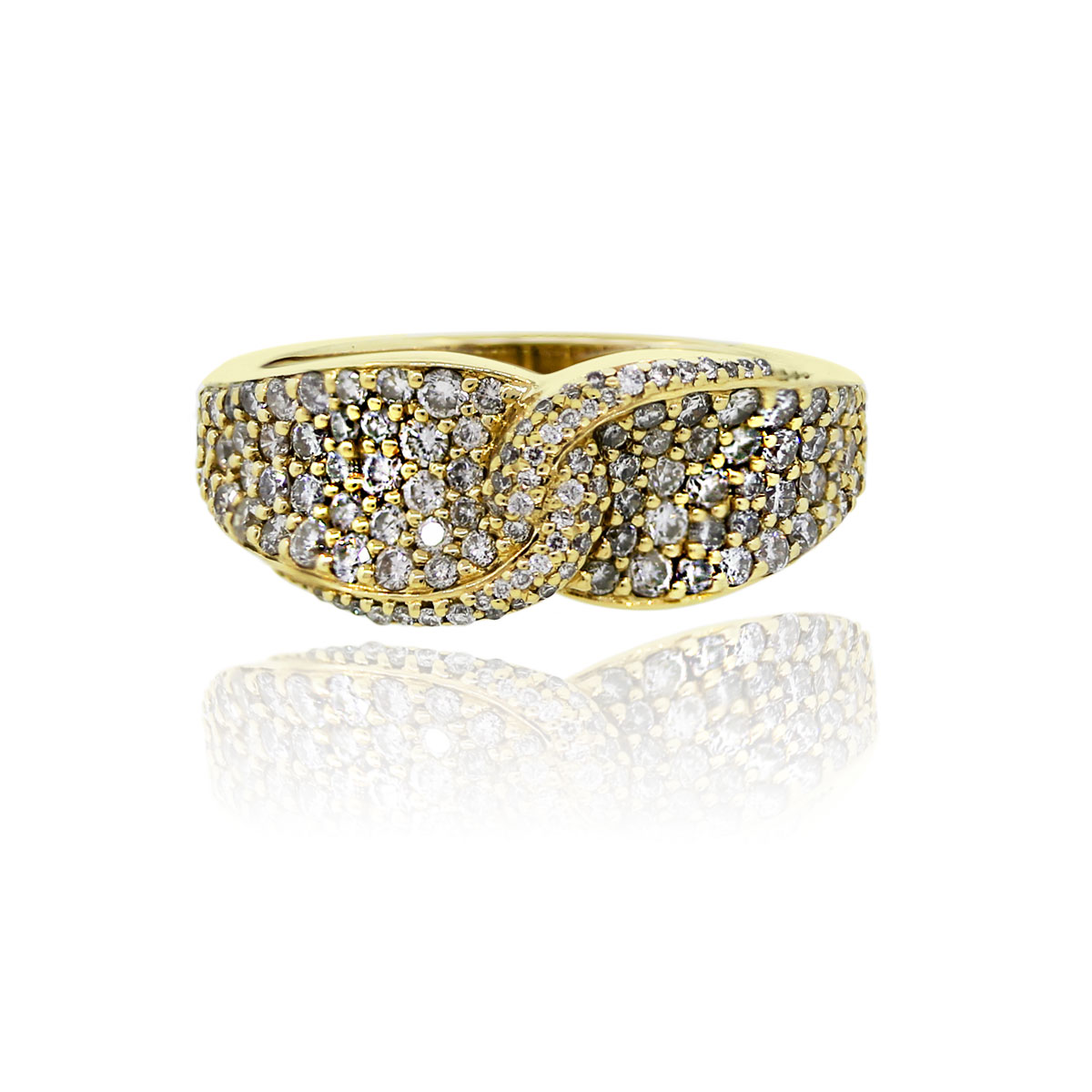 You are viewing this EFFY 14K Yellow Gold Diamond Ring!