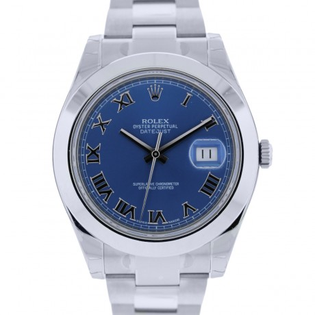 Rolex Datejust II 116300 Blue Dial Stainless Steel Watch