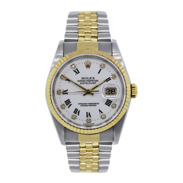 Rolex Datejust 16233 Two Tone Gold Watch