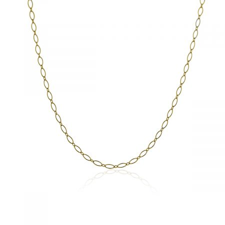 """tiffany & Co. 18k Yellow Gold 30"""" Oval Link Chain Necklace!"""