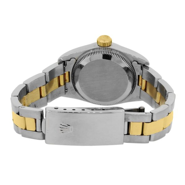Rolex Oyster Perpetual 67183 Gold Dial Ladies Watch
