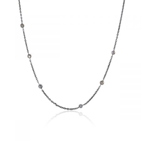 You are viewing this 14k White Gold 0.30ctw Diamonds by The Yard Necklace!