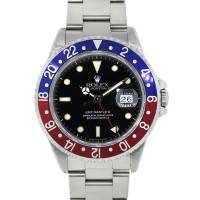 Rolex GMT Master II 16710 Stainless Steel Black Dial Watch