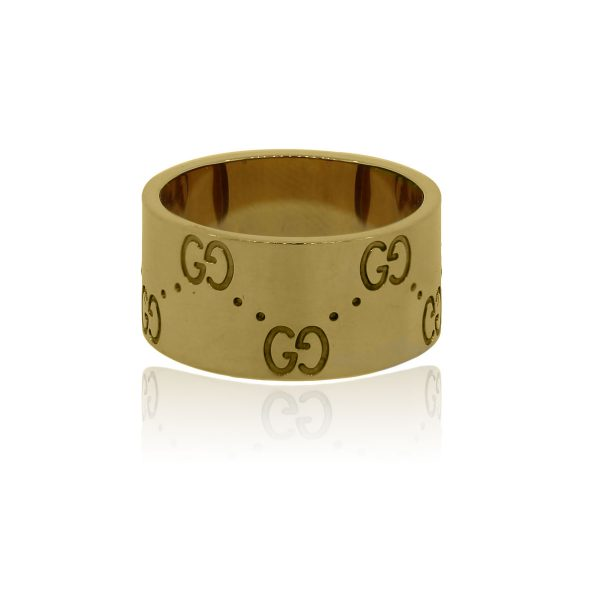 You are viewing this Gucci 18k Yellow Gold Size 12 Ladies Ring!