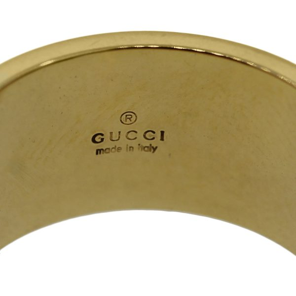 Gucci 18k Gold Size 12 Ladies Ring