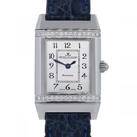 You are viewing this Jaeger LeCoultre Reverso Florale Diamond Bezel Womens Watch!