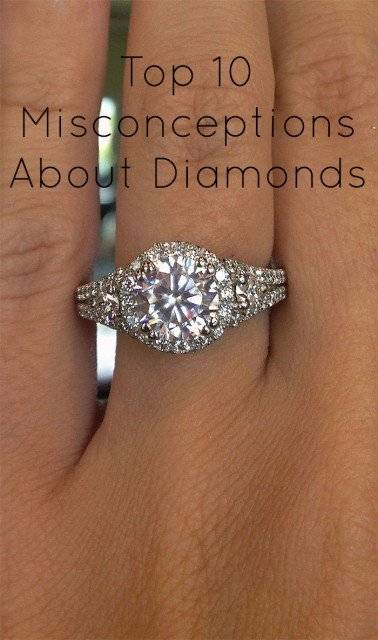 Misconceptions about diamonds