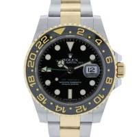 Rolex GMT Master II 116713 Two Tone Watch