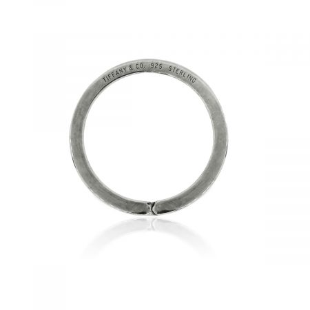 Tiffany & Co. Sterling Silver Circle Key Ring!
