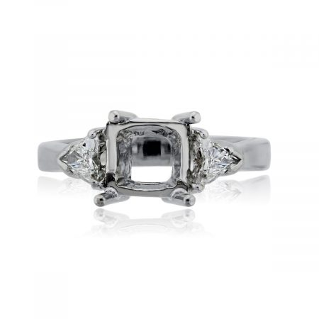 You are viewing this Platinum .50ctw Diamond Engagement Ring Mounting!