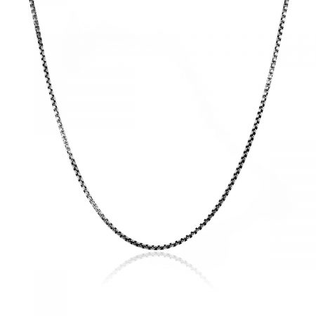 """You are viewing this David Yurman Sterling Silver 22"""" Small Box Chain Necklace!"""