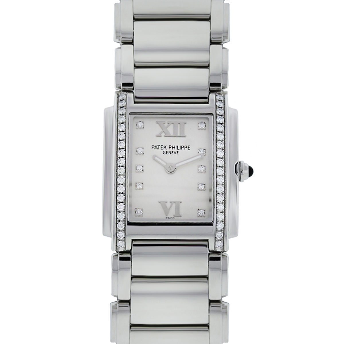 You are viewing this Patek Philippe Twenty 4 4910 Cream Dial Stainless Steel Watch!
