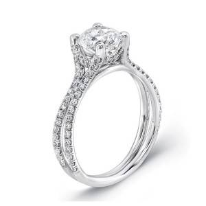 Uneek Engagement Ring and Wedding bands