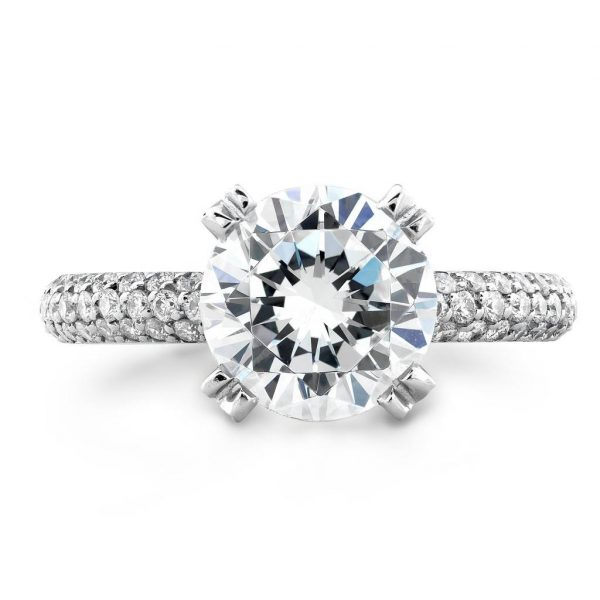 uneek diamond solitaire ring
