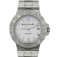Bulgari LCV38S White Dial Stainless Steel Automatic Watch