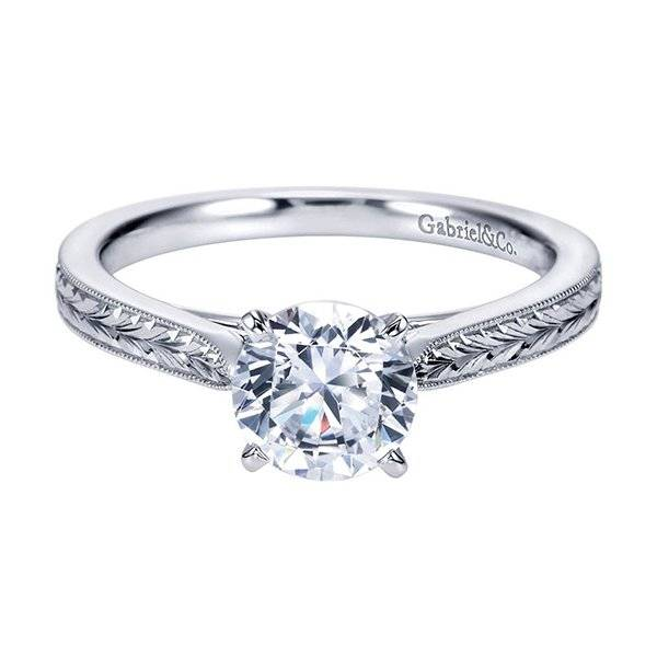 Beautiful Inexpensive solitaire diamond mounting