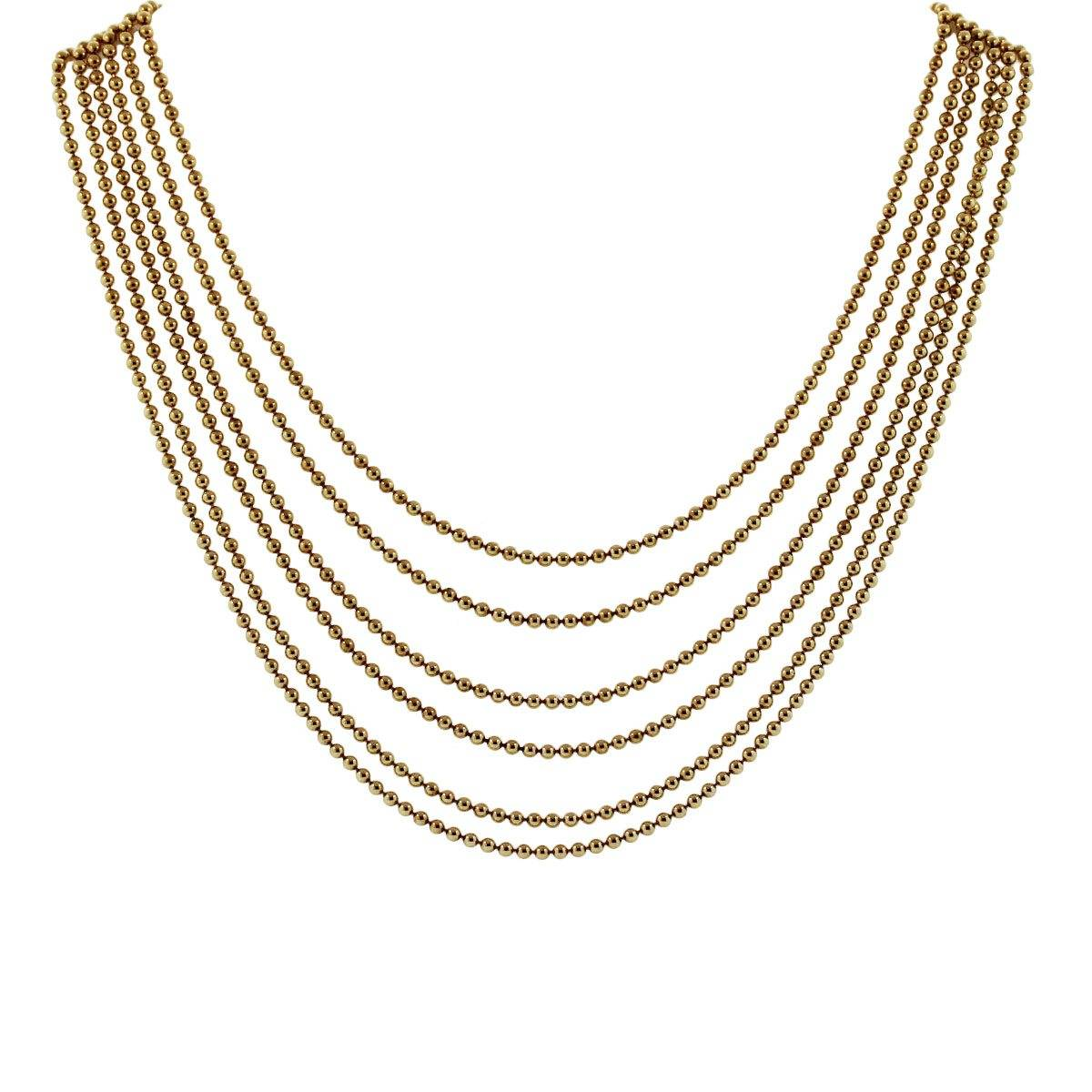 Cartier bead Necklace