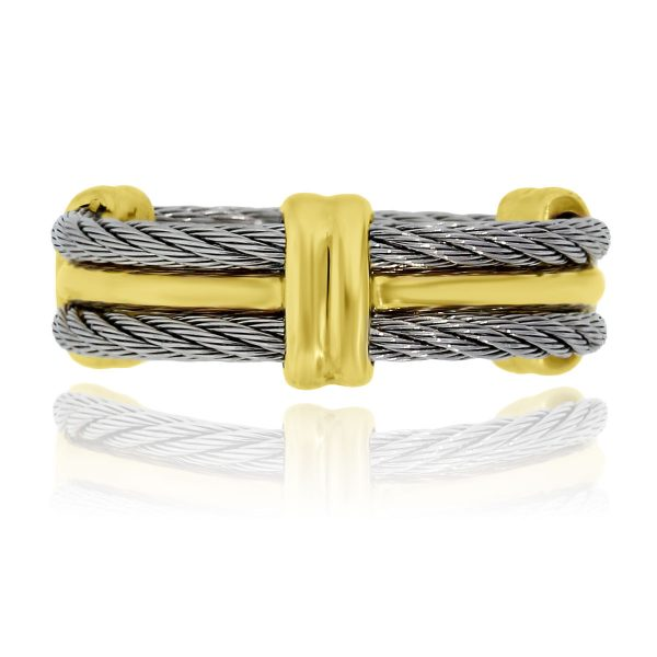You are viewing this Charriol Two Tone Cable Mens Band Ring!